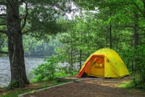 Summer Camping Vacations