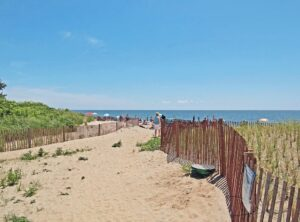 Beach Camping Locations in New England